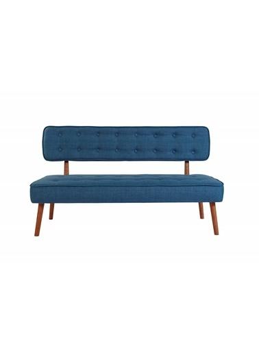 Ze10 Design Westwood Loveseat İikili Kanepe Gece Mavisi Mavi